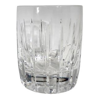 Lenox Starfire Double Old Fashioned Heavy - Concord Barware Cut Crystal Glass For Sale