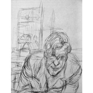 """Alberto Giacometti """"The Man"""" Print For Sale"""