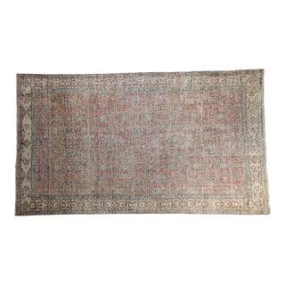 "Vintage Distressed Sparta Carpet - 5'4"" X 9'3"" For Sale"