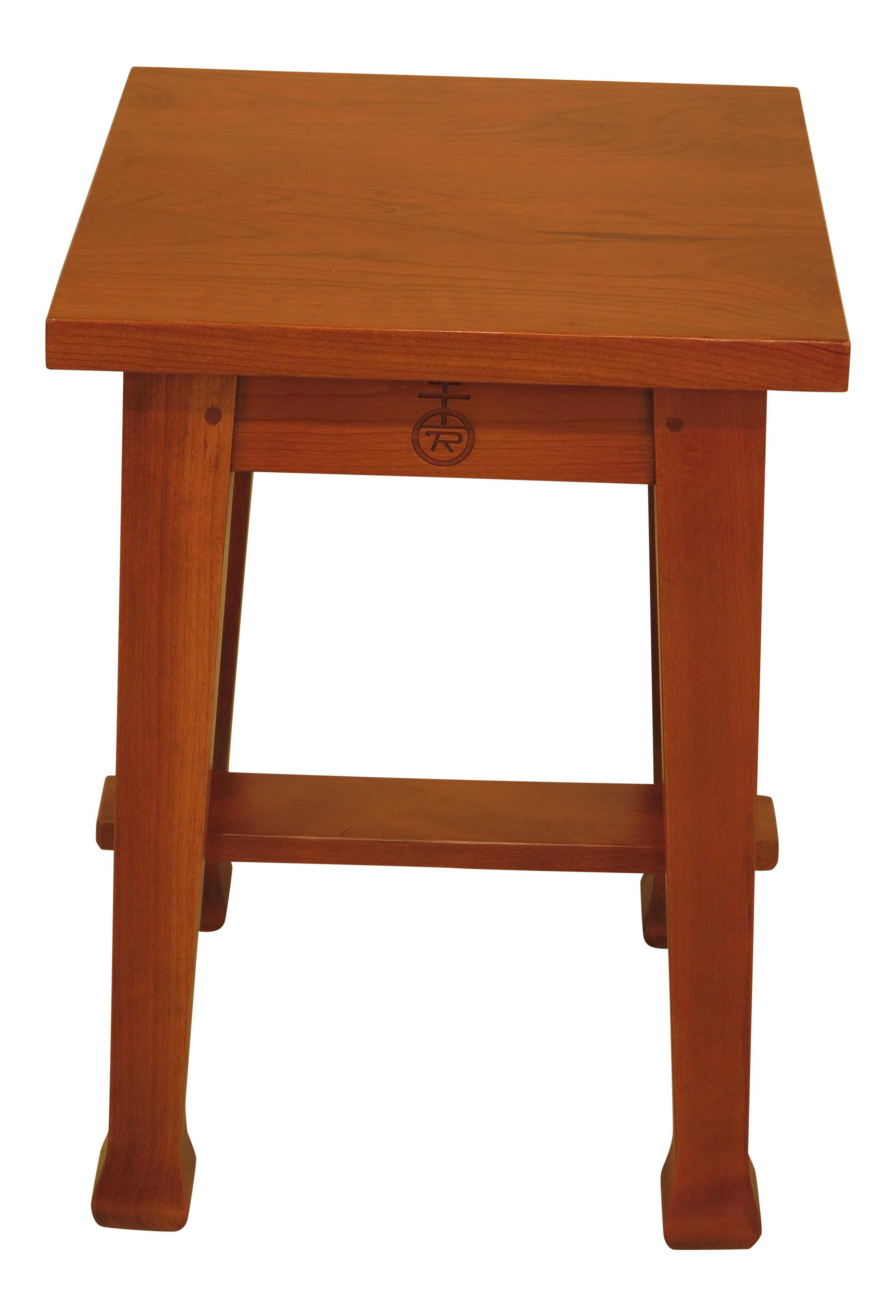 Stickley Roycroft Model Cherry Tabouret Occasional Table