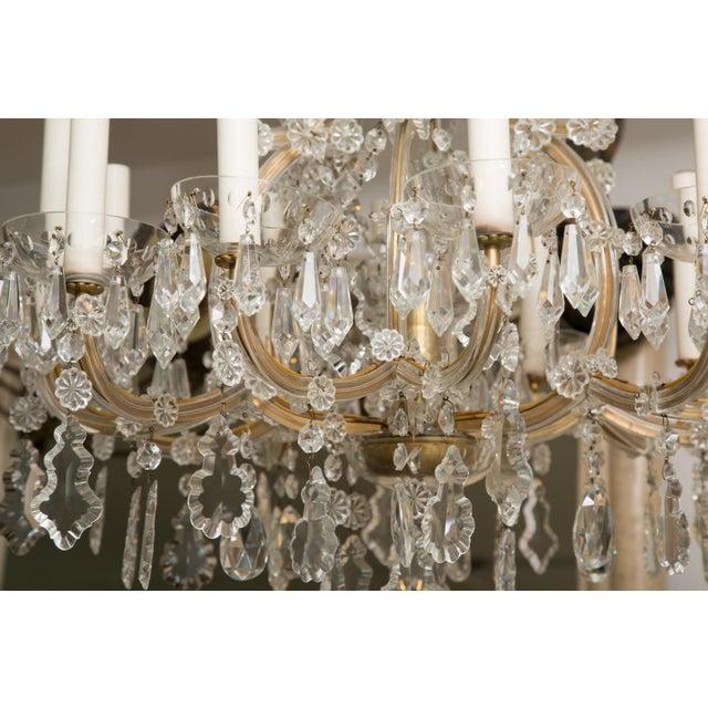 Vintage Maria Theresa Twelve-Light Chandelier For Sale - Image 9 of 11