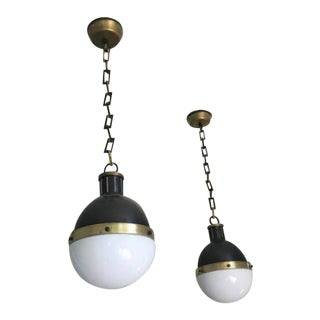 Thomas O'Brien Hicks Small Pendant Lights - a Pair For Sale