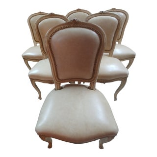 1900s Louis XV Style Dining Chairs - Set of 6 For Sale