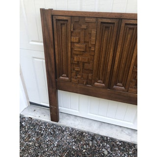 1970s Brutalist King Sized Headboard Preview
