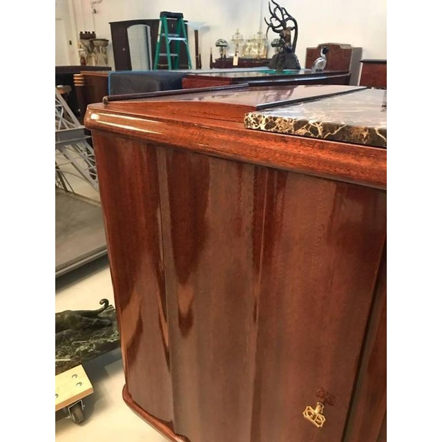 French Art Deco Numbered Gaston Poisson Buffet For Sale In New York - Image 6 of 10