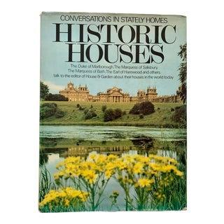 1960s Historic Houses: Conversations in Stately Homes Book For Sale