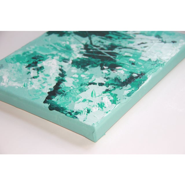 Mint Green-Abstract Painting - Image 2 of 2