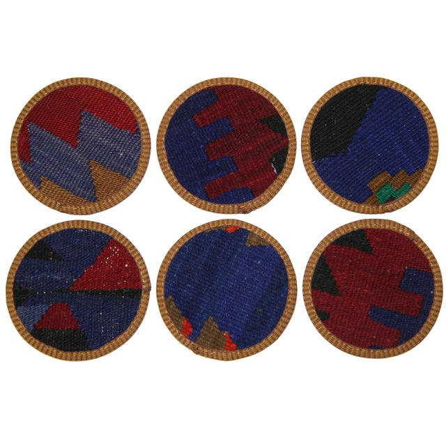 Kilim Coasters, Afşin - 6 - Image 2 of 2