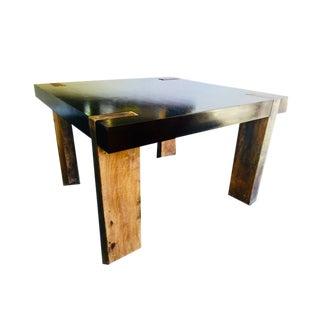 Beautiful Modern Designer Solid Peroba Rosa Wood Dining Room Table