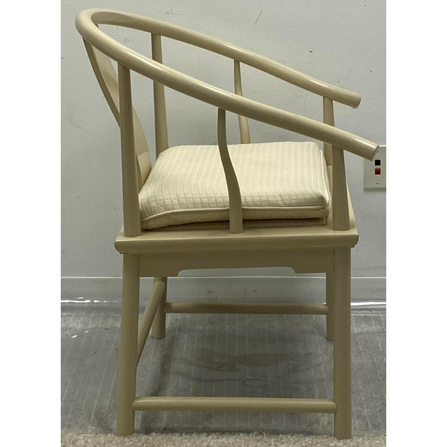 Asian Ming Style Dining Chairs by Baker Furniture - Set of 6 For Sale - Image 3 of 7