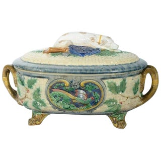 1875 Georgian Minton Covered Soup Tureen