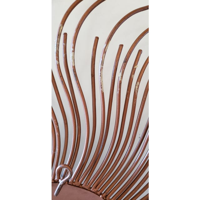 Curtis Jere Signed Sunburst Metal Wall Sculpture For Sale - Image 9 of 13