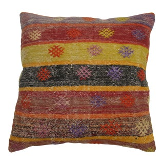 Vintage Kilim Pillow For Sale