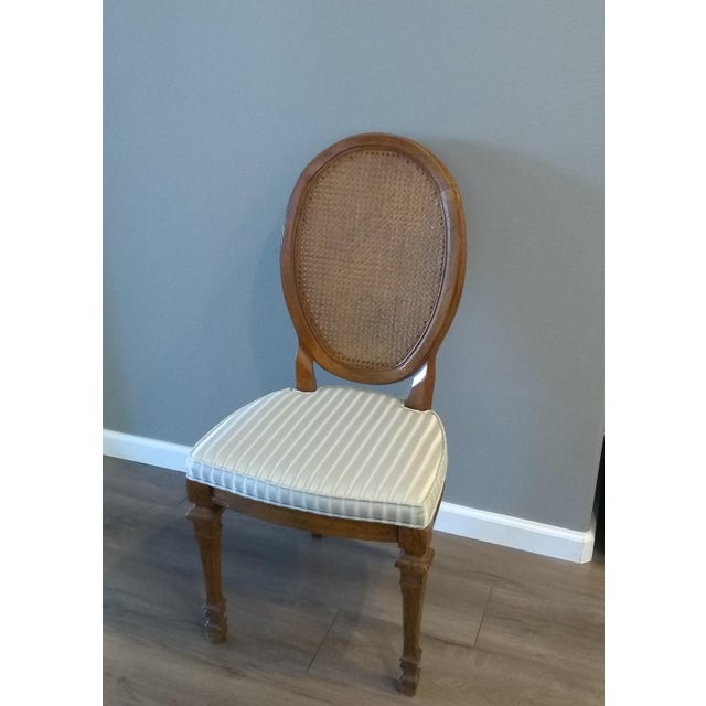 This beautiful set of dining chairs will add comfort and style to any room. The Drexel furniture brand is a particular...