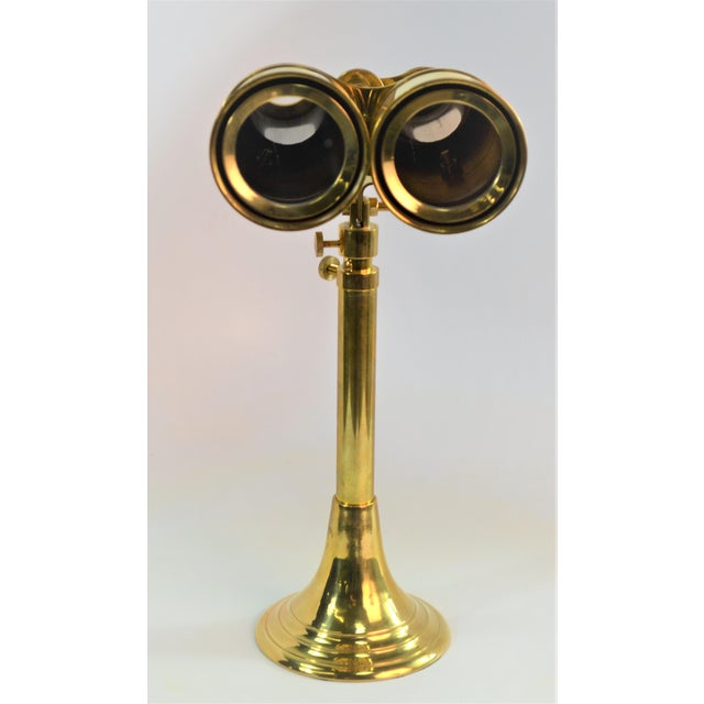 Bungalow 5 NIELS BINOCULARS WITH STAND, BRASS Beautiful accent to any room, that works very well can see far distances and...