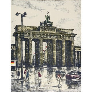 Brandenburg Gate Berlin Print For Sale