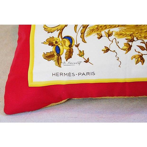 Custom Hermes Ceres Mermaid Silk Pillow Cushion - Image 3 of 8