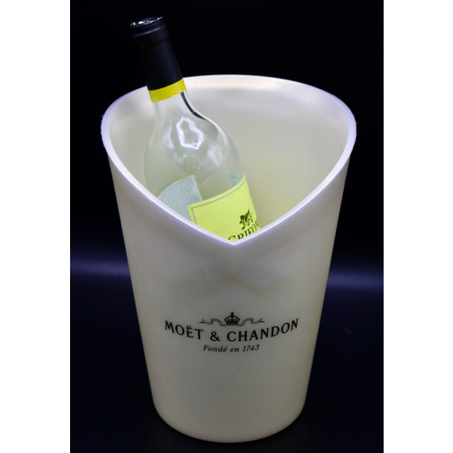 Vintage Moet and Chandon French Champagne Bucket For Sale - Image 10 of 12
