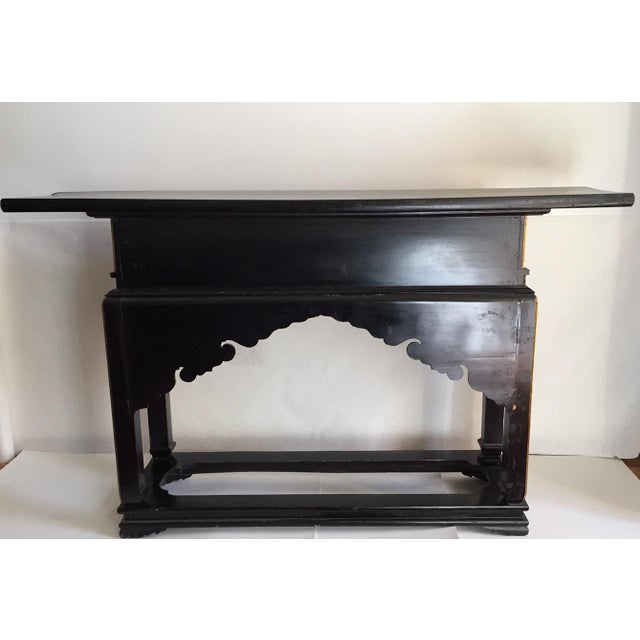 1930's Chinese Temple Table Chinoiserie Console - Image 10 of 10