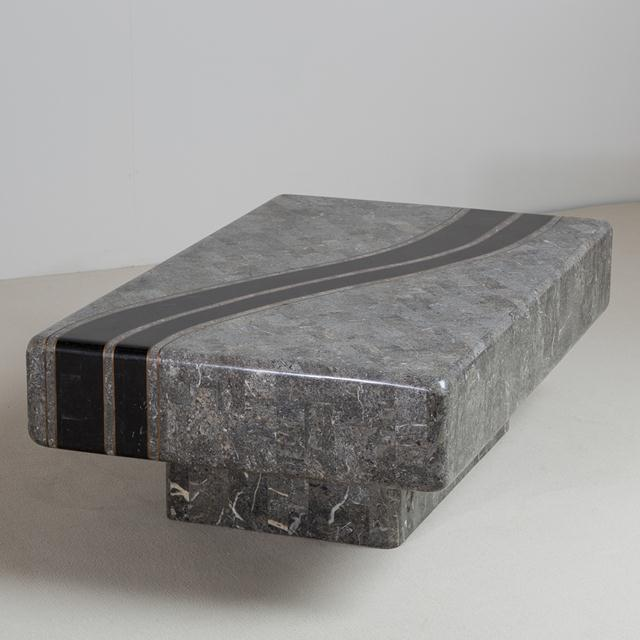 Maitland - Smith A Tessellated Stone Coffee Table by Maitland Smith 1980s For Sale - Image 4 of 8