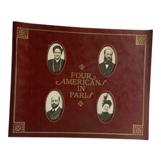 1970 Four Americans in Paris Book For Sale