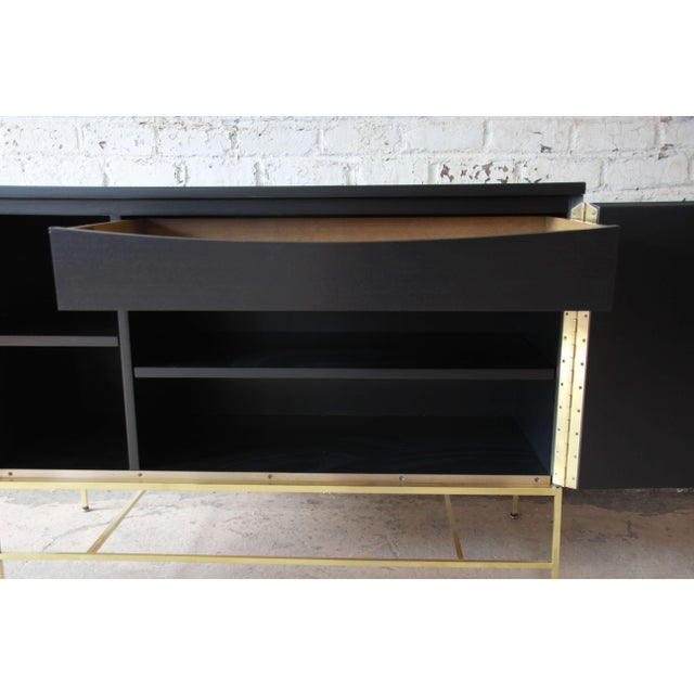 "Metal Paul McCobb for Calvin ""Irwin Collection"" Sideboard Credenza For Sale - Image 7 of 12"