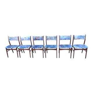 Danish Teak Dining Chairs - Set of 6 For Sale