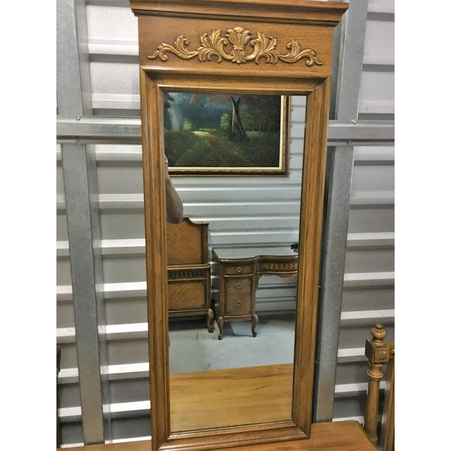 Vintage Thomasville Dresser with Wall Mirrors - Image 6 of 9