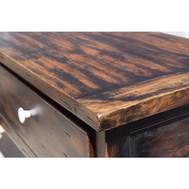 This is a stunning piece produced from reclaimed natural wood. The table has splayed legs which makes this gem a real...