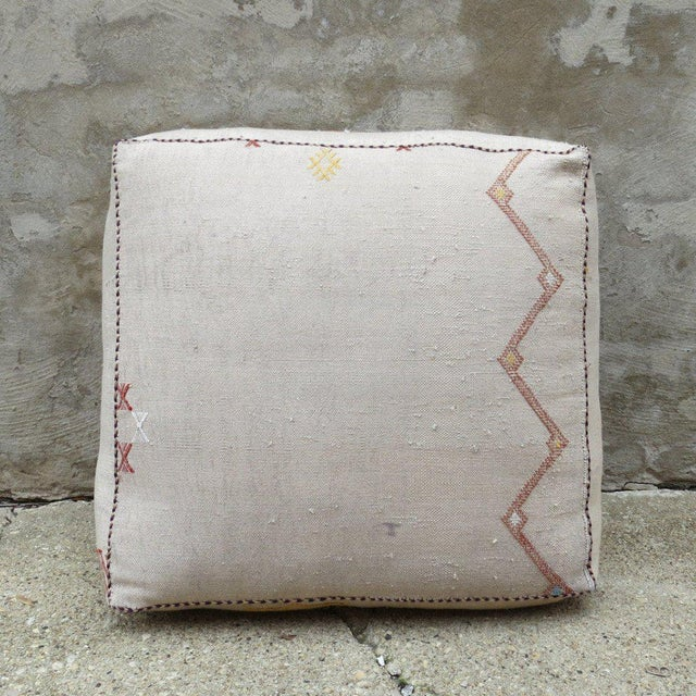 Each piece is one-of-a-kind Detail: Pillow come stuffed and have zipper closures