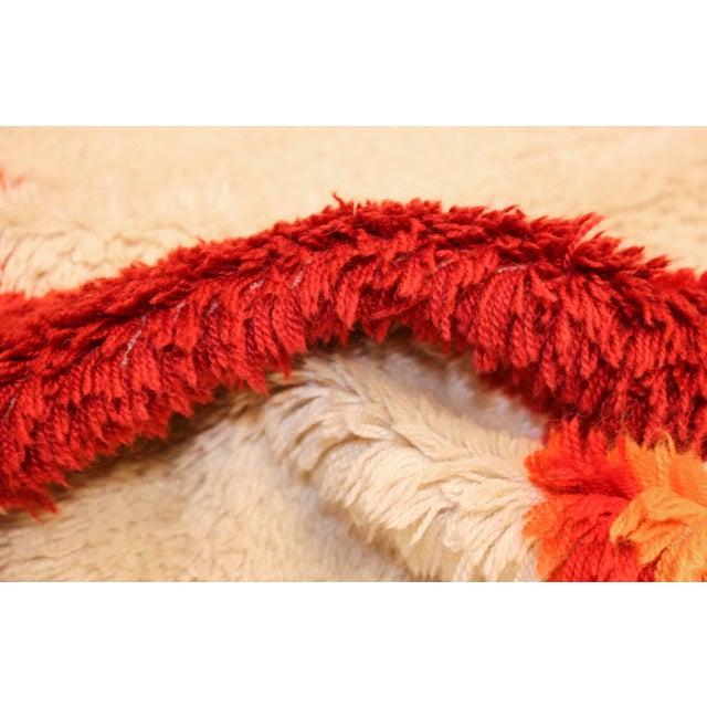 Textile Vintage Swedish Deco Rug - 2′7″ × 5′1″ For Sale - Image 7 of 10