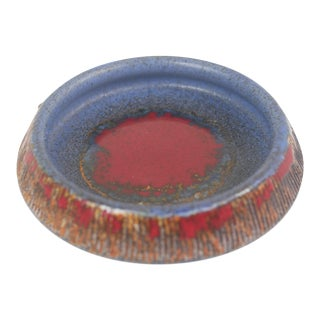 Tilhman's Swedish Ceramic Decorative Bowl For Sale