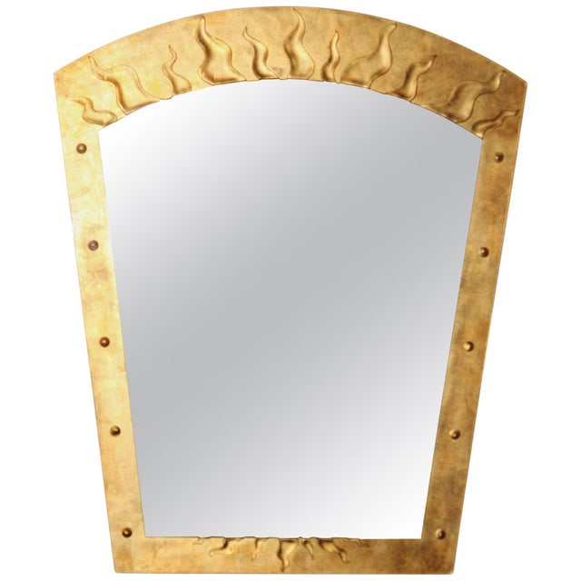 David Marshall Èglomisé Mirror For Sale - Image 13 of 13