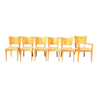 1950s Vintage Heywood-Wakefield Stingray Chairs- Set of 6 For Sale