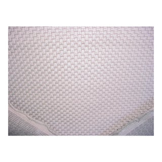 Kravet Couture Stitch Silver Dove Textured Weave Upholstery Fabric- 3 Yards For Sale