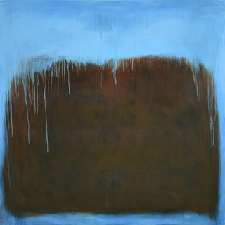 Large Abstract Painting by Stephen Remick For Sale