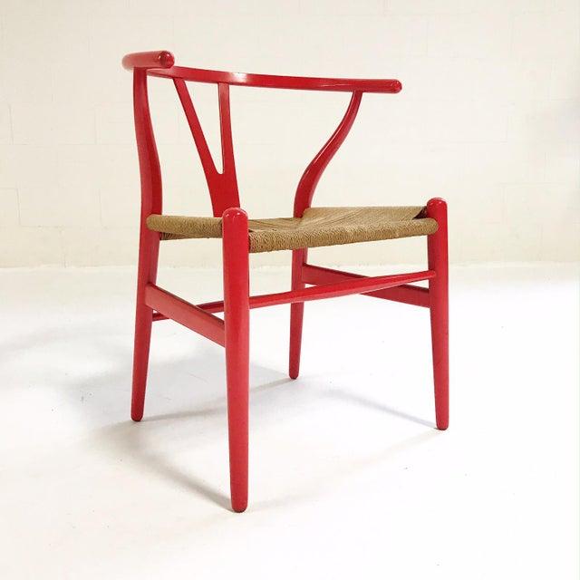 Vintage Hans Wegner Model Ch24 Wishbone Chair Chairish
