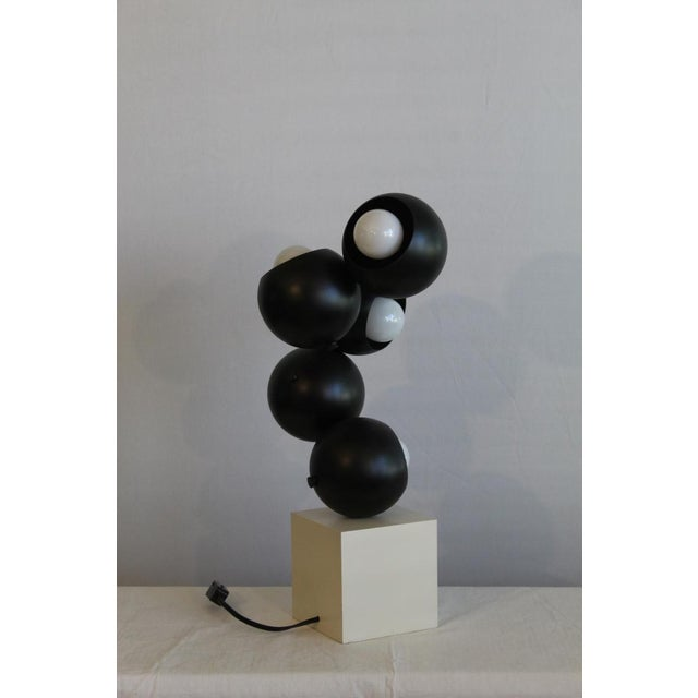 Robert Sonneman sculptural Table Lamp. For Sale In Miami - Image 6 of 8