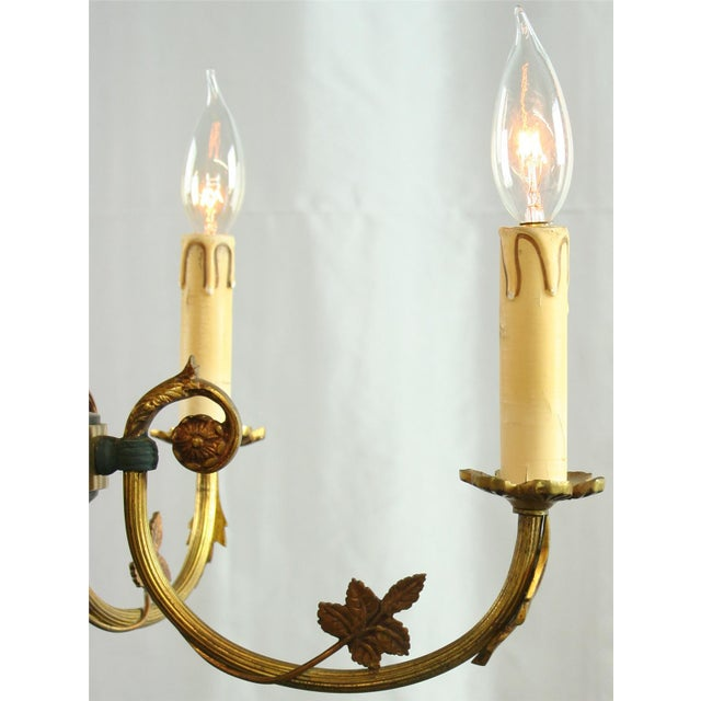 Vintage French Empire Chandelier Circa 1950 - Image 3 of 8