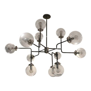 Visual Comfort Polished Nickel Chandelier Ceiling Light
