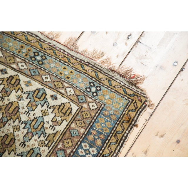 "Cottage Vintage Caucasian Square Rug -1'11"" x 2'6"" For Sale - Image 3 of 8"