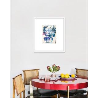 "Medium ""Roman Face"" Print by Leslie Weaver, 20"" X 23"" Preview"