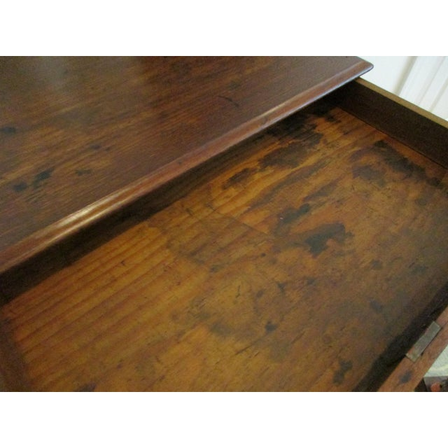 Antique 1800s New England Walnut Wooden Merchant Spool Thread Cabinet Box  For Sale - Image 6 - Antique 1800s New England Walnut Wooden Merchant Spool Thread
