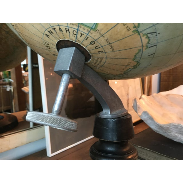 Early 20th Century Early 20th Century French Plaster Globe For Sale - Image 5 of 10