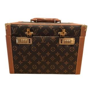 1970's Vintage Louis Vuitton Train Case For Sale