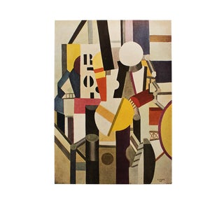 "1950 Fernand Léger ""Composition"", Original Period Parisian Lithograph For Sale"