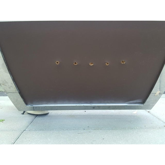 Mid-Century Modern Kipp Stewart for Directional Chrome Lounge Chairs - A Pair For Sale - Image 10 of 11
