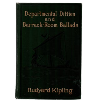 "1907 ""Departmental Ditties and Barrack-Room Ballads"" Collectible Book For Sale"