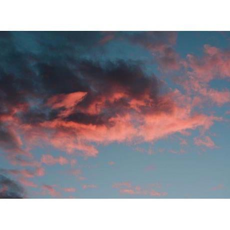 Abstract Cloud Print by Nicole Cohen For Sale - Image 3 of 4
