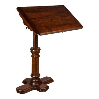 19th Century Traditional Adjustable Tray Table For Sale